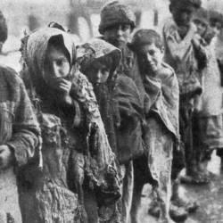 Genocidio armeno: foto bambini
