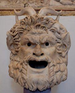 Maschera di satiro, Musei Capitolini, Roma.