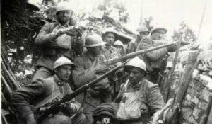 Soldati italiani in trincea, Prima guerra mondiale