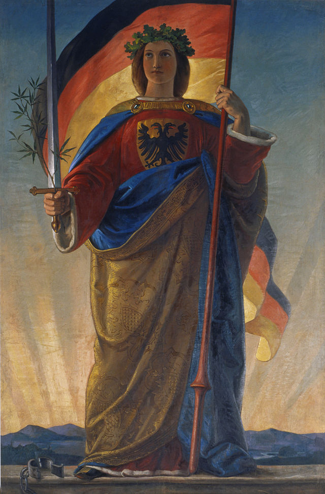 Germania. Philipp Veit, marzo 1848