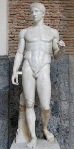 Il Doriforo. Museo archeologico nazionale di Napoli