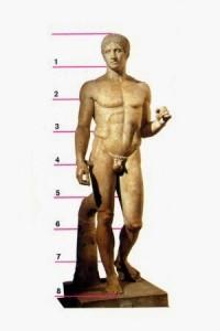 Scultura greca. Policleto Doriforo