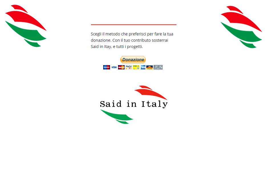 campagna fondi said in italy