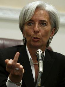Christine Lagarde indica perentoriamente il suo punto di vista