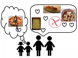 Dialogo e cibo senza glutine - celiachia in famiglia