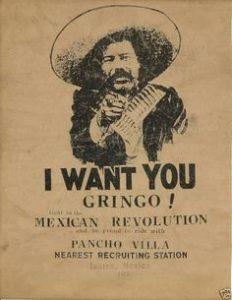 Cartello che utilizza la parola gringo.
