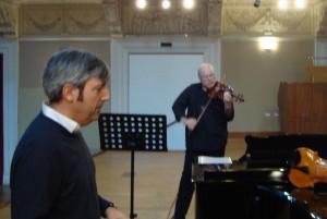 Mauro Fabretti e Massimo de Bonfils, mostra concerto 2015