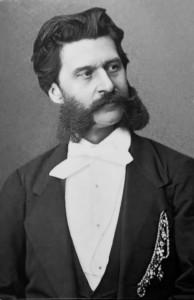 Immagine del compositore Johann Strauss (figlio)