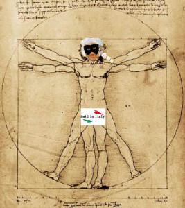 Leonardo Da Vinci, l' Uomo Perfetto Marcheseiano di Isili