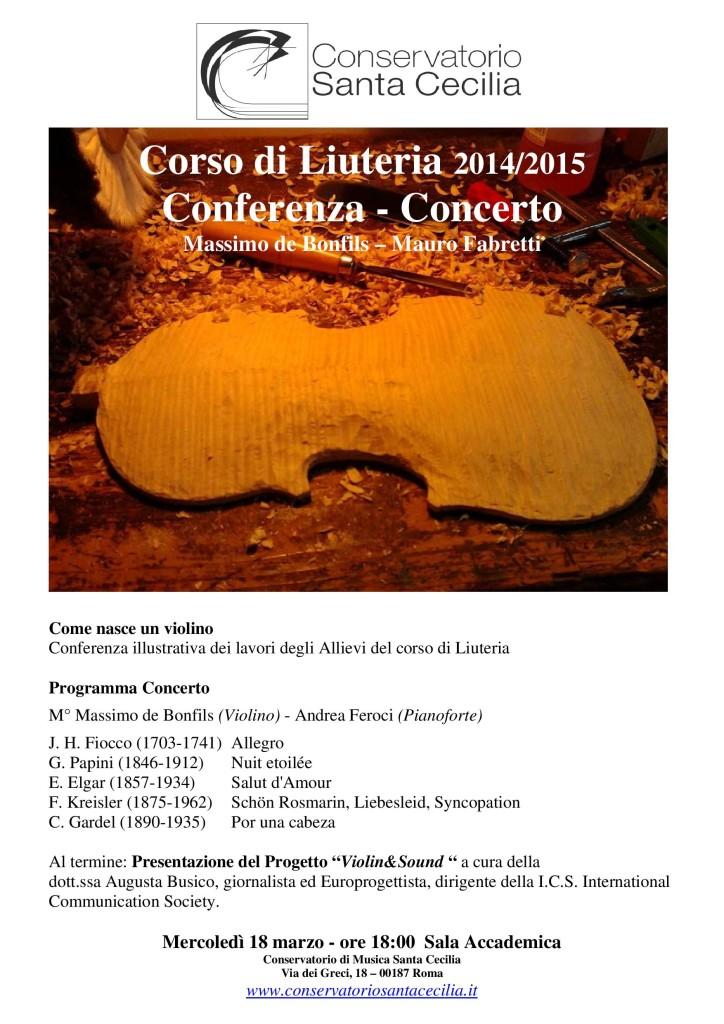 Locandina mostra concerto 2015