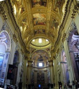 La Basilica di Sant'Andrea della Valle, a Roma: un esempio abbastanza esplicativo del gusto barocco
