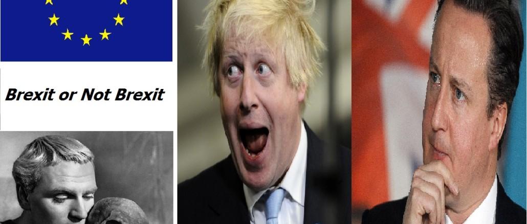 Brexit-Johnson vs Cameron- la schizofrenia pragmatica britannica
