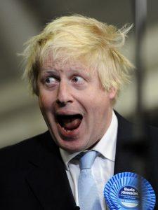 Sindaco di Londra Boris Johnson