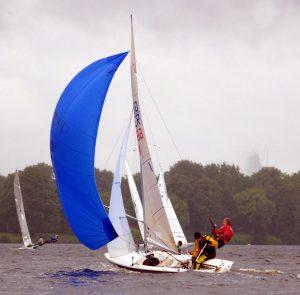 Esempio di vela Spinnaker