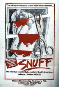 Locandina del film Snuff