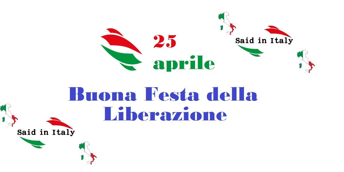 Festa della Liberazione - Said in Italy