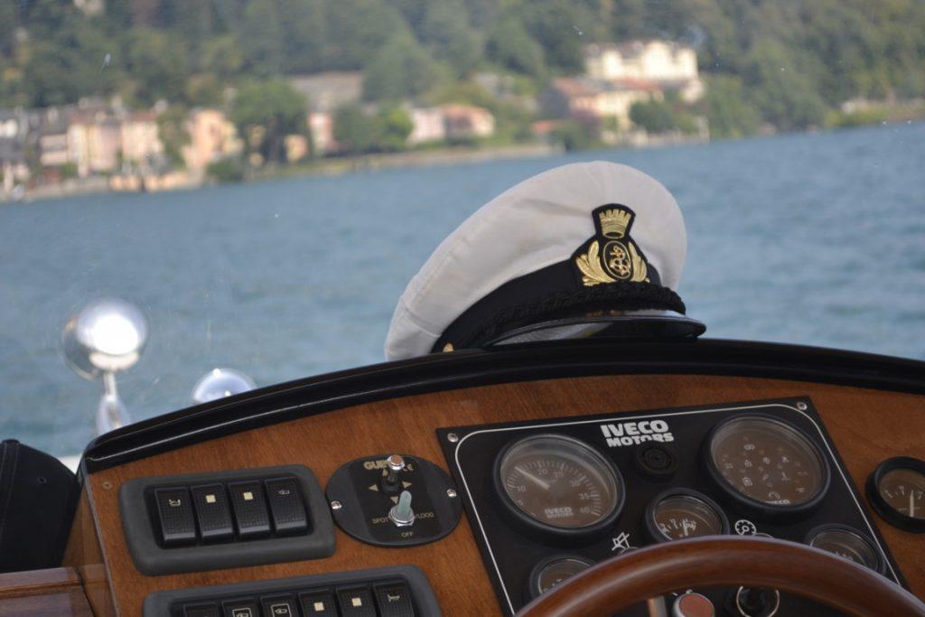 Barca e il cappello del capitano!