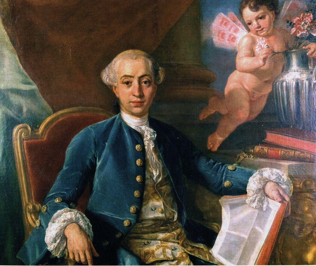 Presunto ritratto di Giacomo Casanova, attribuito a Francesco Narici, e in passato ad Anton Raphael Mengs o al suo allievo Giovanni Battista Casanova (fratello di Giacomo Casanova)