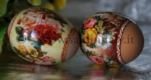 Painted Easter eggs: from Minsk (by Ekaterina)